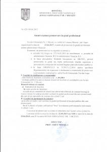 Anunt examen promovare in grad _0001